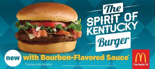 McDonald s The Spirit of Kentucky Burger