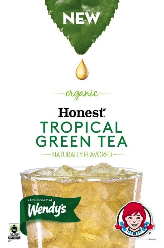 Wendy s Exclusive Honest Tropical Green Tea