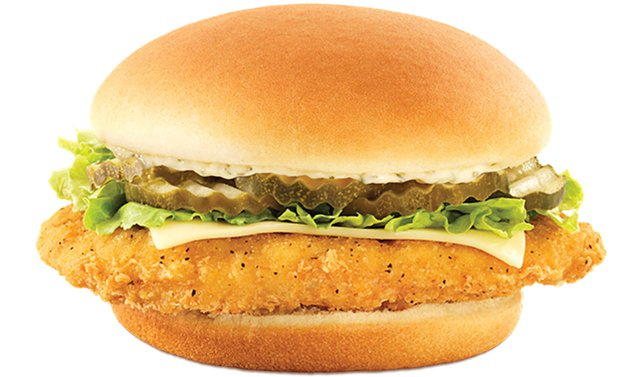 Wendy s Crispy Dill Chicken Sandwich