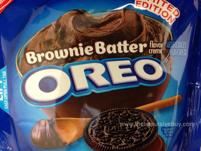 Nabisco Limited Edition Brownie Batter Oreo Cookies