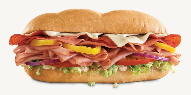 Arby s Loaded Italian Sandwich