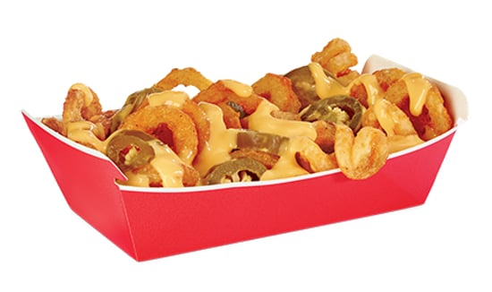Jack in the Box Spicy Nacho Curly Fries