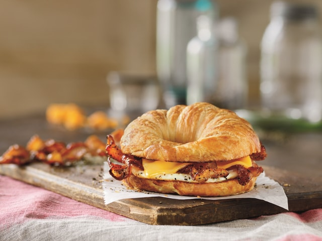... Donuts Sweet Black Pepper Bacon Breakfast Sandwich - The Impulsive Buy