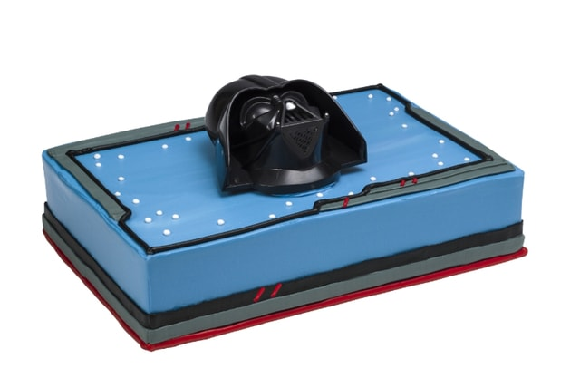 Baskin Robbins Star Wars Darth Vader Cake
