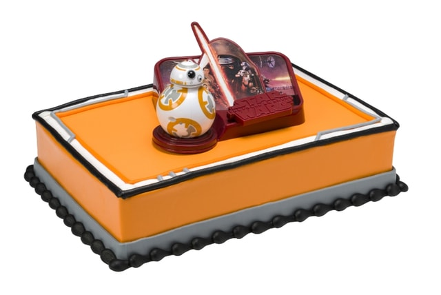 Baskin Robbins Star Wars The Force Awakens Cake