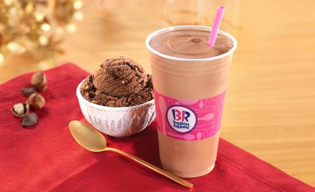 Baskin Robbins Chocolate Hazelnut Ice Cream