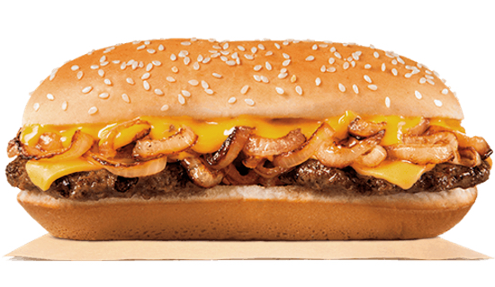 Burger King Extra Long Philly Cheeseburger