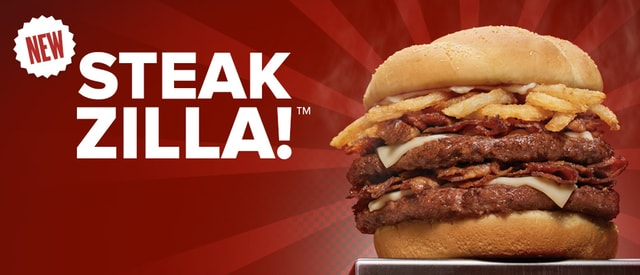 Checkers Rally s Steakzilla