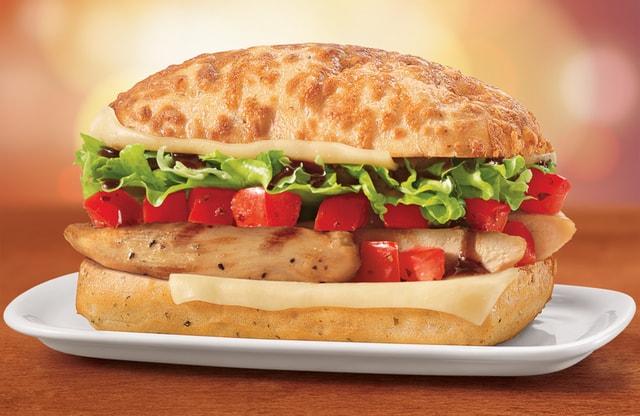 DQ Bakes Chicken Bruschetta Sandwich