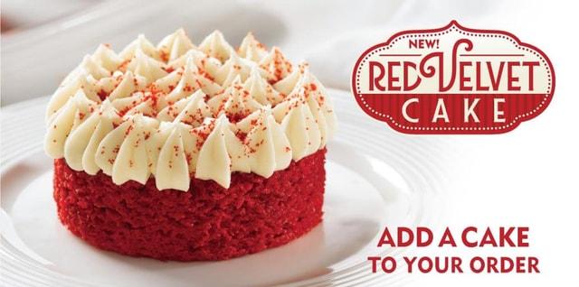 Popeyes Red Velvet Cake