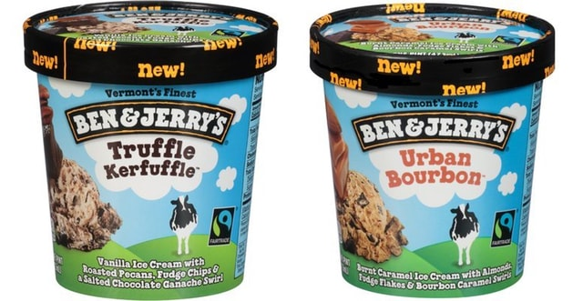 COMING SOON: Ben & Jerry's Truffle Kerfuffle and Urban Bourbon Ice Creams