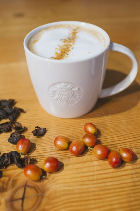 FAST FOOD NEWS: Starbucks Cascara Latte