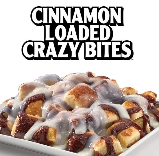 Little Caesars Cinnamon Loaded Crazy Bites