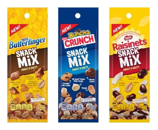 Nestle Sweet  Salty Snack Mixes