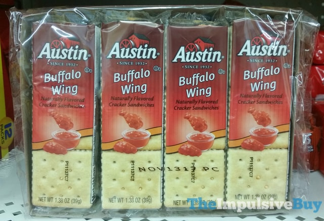 Austin Buffalo Wing Cracker Sandwiches