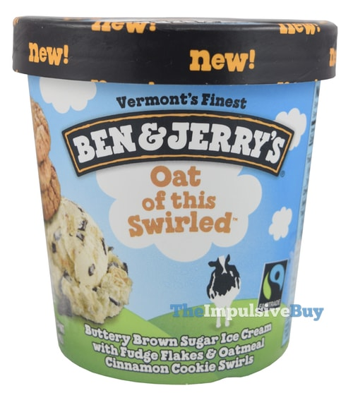 Ben & Jerry's Oat of this Swirled Ice Cream