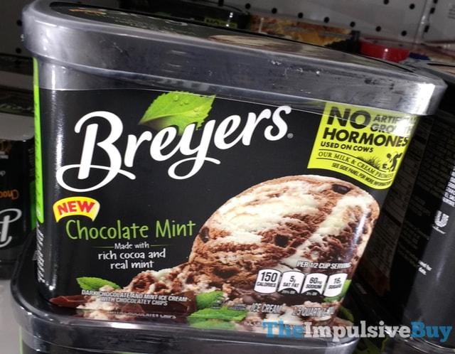 Breyers Chocolate Mint Ice Cream