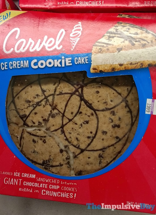 Carvel Ice Cream Cookie Cake