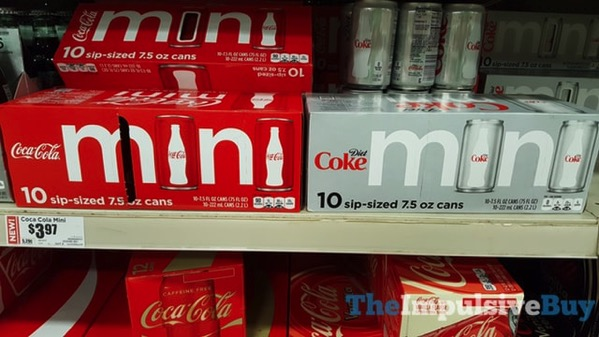 Coca Cola and Diet Coke Mini Fridge Packs