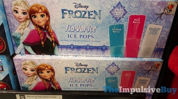 Disney Frozen Fla Vor Ice
