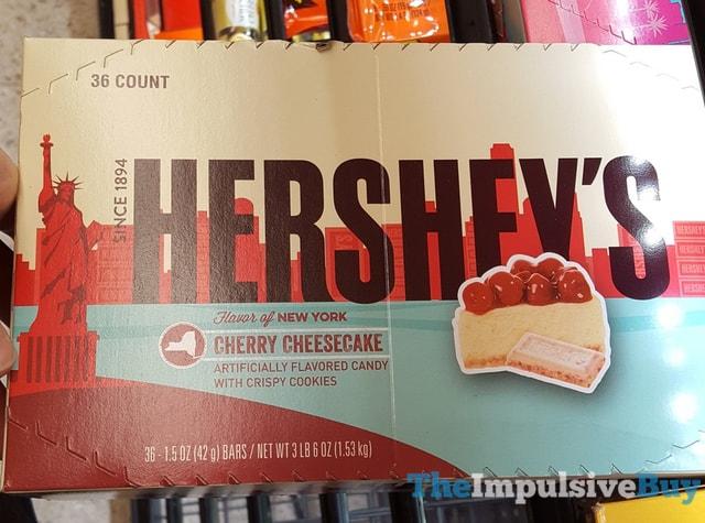 Hershey s Flavor of New York Cherry Cheesecake Bars