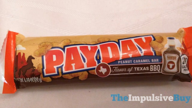Hershey s Flavor of Texas BBQ Payday Bar