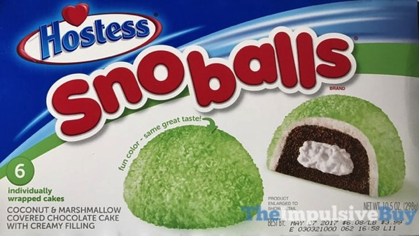 Hostess Green Sno Balls