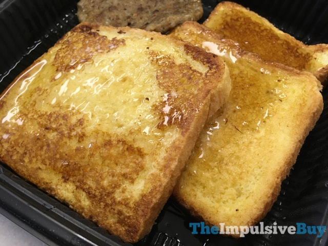 Jack in the Box Grilled French Toast Plate 2