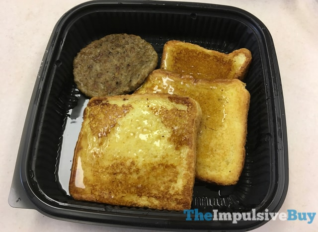Jack in the Box Grilled French Toast Plate