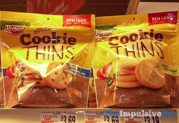 Keebler Cookie Thins  2017