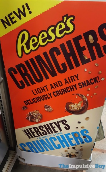 Reese s and Hershey s Cookies  N Creme Crunchers Display