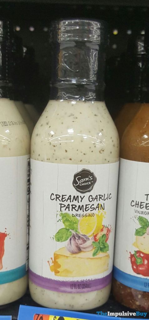 Sam's Choice Creamy Garlic Parmesan Dressing