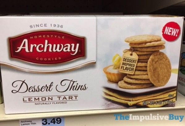 Archway Dessert Thins Lemon Tart