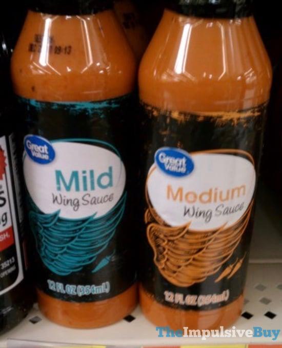 Great Value Mild and Medium Wing Sauce