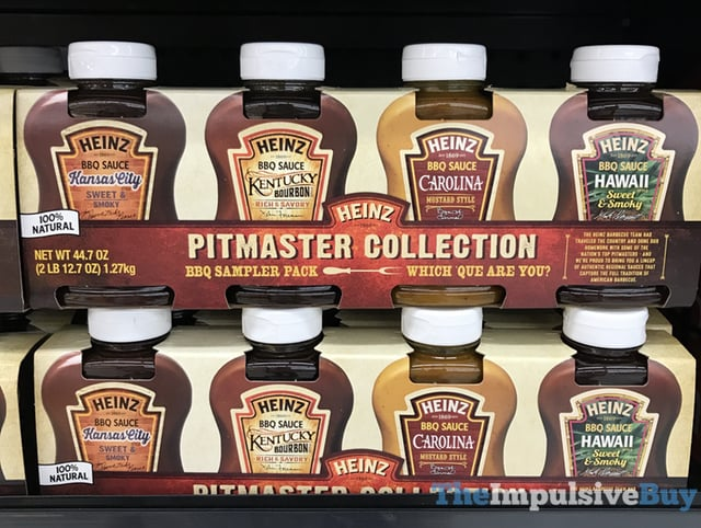 Heinz Pitmaster Collection 2017