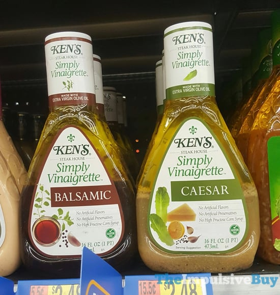 Ken s Balsamic and Caesar Simply Vinaigrette