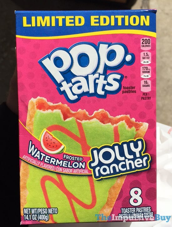 Limited Edition Jolly Rancher Frosted Watermelon Pop Tarts