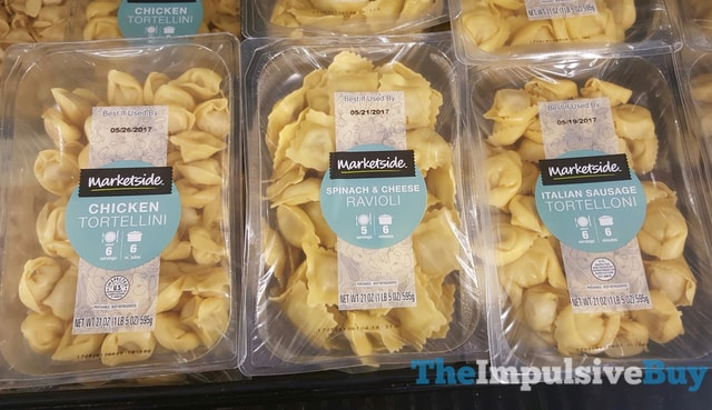 Marketside Chicken Tortellini Spinach  Cheese Ravioli and Italian Sausage Tortelloni