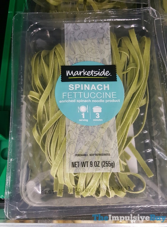 Marketside Spinach Fettuccine