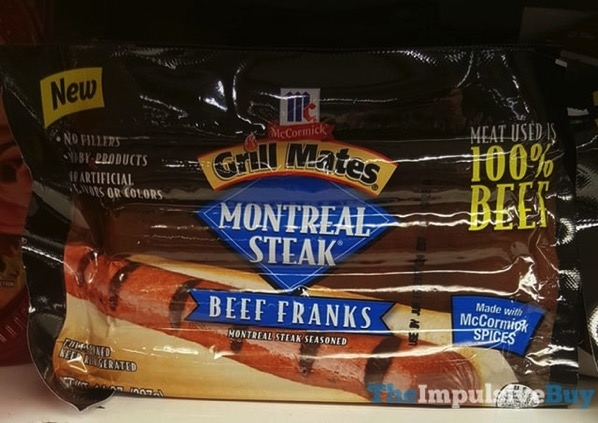 McCormick Grill Mates Montreal Steak Beef Franks