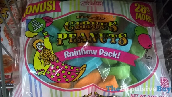 Melster Candies Circus Peanuts Rainbow Pack