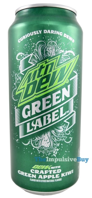 Mtn Dew Green Label