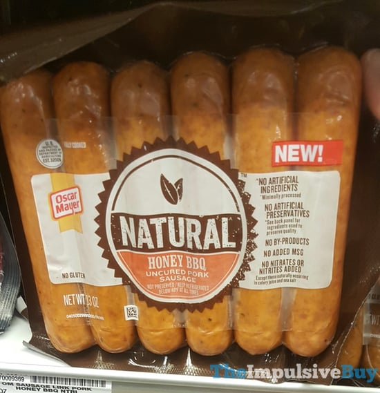 Oscar Mayer Natural Honey BBQ Uncured Pork Sausage