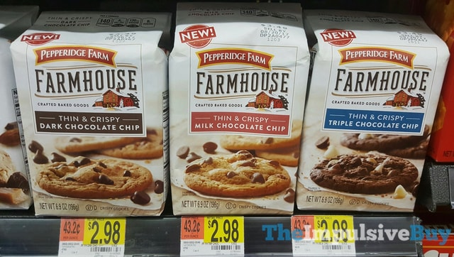 Pepperidge Farm Thin  Crispy Farmhouse Cookies