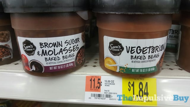 Sam s Choice Brown Sugar  Molasses and Vegetarian Baked Beans