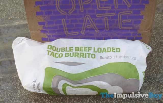 Taco Bell Loaded Taco Burrito