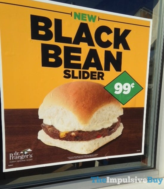 White Castle Black Bean Slider