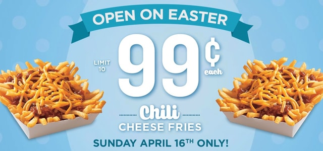 Wienerschnitzel 2017 Easter Deal