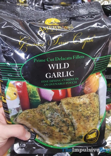 America s Catch Gourmet Series Catfish Wild Garlic
