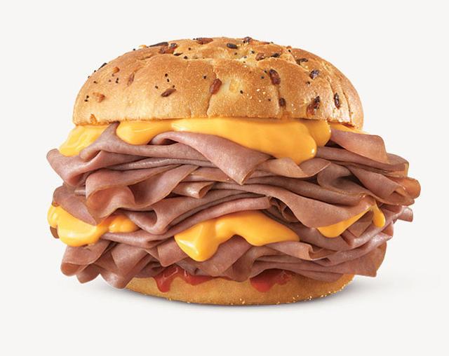 Arby s Half Pound Beef  N Cheddar